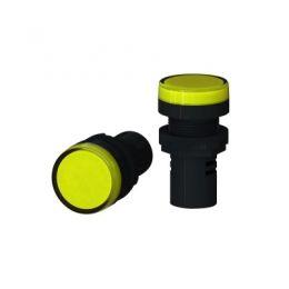 Sinal LED 220V Amarelo