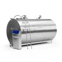Tanque Resfriador de Leite - Circular Fechado com limpeza automática e semiautomática