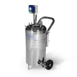 Máquina de Ordenhar Transferidor de Leite Plus Inox