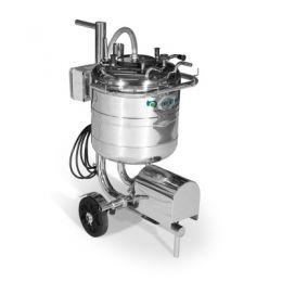 Máquina de Ordenhar Transferidor de Leite Taura Inox