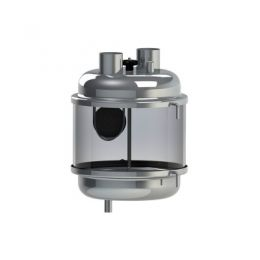 Aerador Completo P/ Tubulação 50mm (Inox/Acrilico)